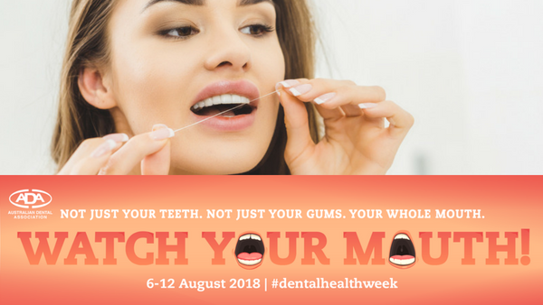 Flossing is not an optional extra - Dental Health Week 2018