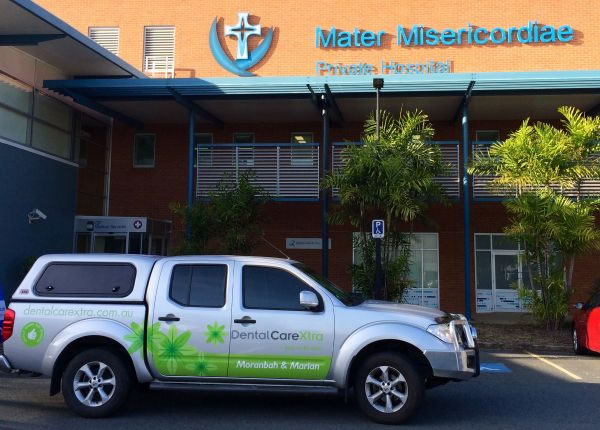 Car used by our general anesthetic dentists in Moranbah & Mackay
