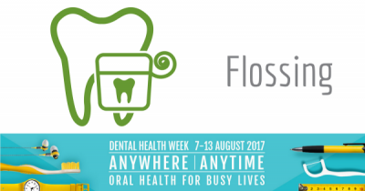 Flossing - Dental Health Week 2017