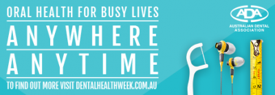 Dental Health Week 2017 - Oral Health for Busy Lives