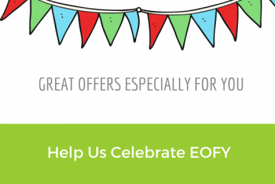 It's the end of the financial year, and have we got some special offers for you!