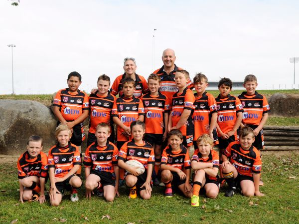 West Tigers Under 9's